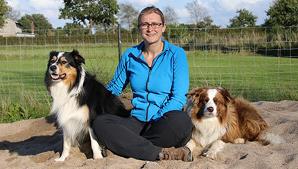 Fit mit Hund-Trainerin Anja Hoffmann-Plath